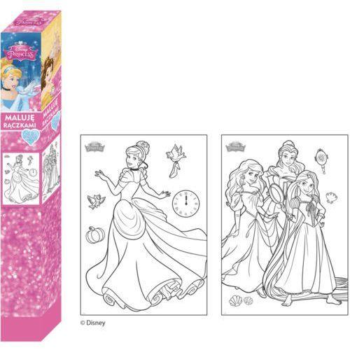Książki dla dzieci, Maluję rączkami. Księżniczki (opr. kartonowa)