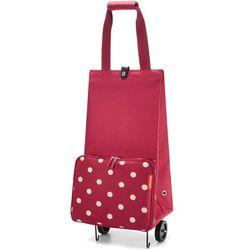 Wózek na zakupy Reisenthel Foldabletrolley Ruby Dots (RHK3014)
