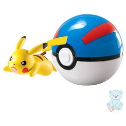 Figurka Pokemon Pikachu i Great Ball TOMY