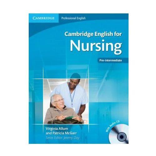 Książki medyczne, Cambridge English for Nursing Pre-intermediate Student's Boo (opr. miękka)
