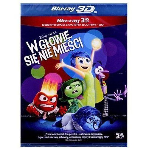 Filmy animowane, W głowie się nie mieści 3D (Blu-Ray) - Pete Docter, Ronaldo Del Carmen