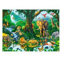 Puzzle, Ravensburger - Afrykańskie zwierzęta - puzzle, 500 elementów - Ravensburger
