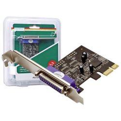 Kontroler Digitus Kontroler Digitus PCI Express, 1 port równoległy parallel DSUB 25F (DS-30020) Darmowy odbiór w 21 miastach!