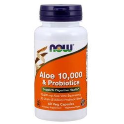 Aloe Vera 10 000 & Probiotyki 60 kaps.