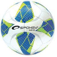 Piłka nożna, Piłka nożna halowa SPOKEY Neo Futsal II niebieski (rozmiar 4)