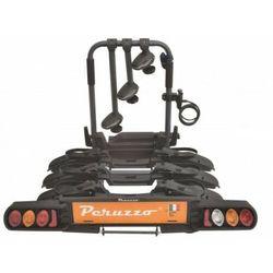 Bagażnik PERUZZO Como 3 czarny / Ilość rowerów: 3