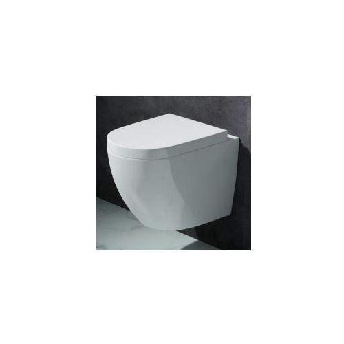 VERA RIMLESS Miska WC wisząca + deska duroplast wolnoopadająca, vera_rimless_miska_deska_duroplast
