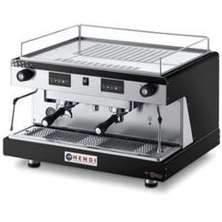 Ekspres do kawy kolbowy HENDI Top Line by Wega 2-grupowy czarny HENDI 208946