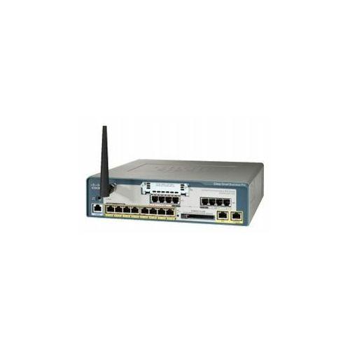 Pozostały sprzęt sieciowy, UC520W-8U-4FXO-K9 8U CME Base CUE and Phone FL w/4FXO 1VIC WIFI