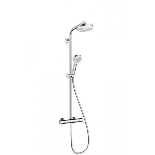 Crometta Hansgrohe komplet prysznicowy crometta 160 1jet biały/chrom - 27264400 (4011097751290)