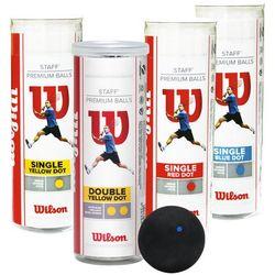 Wilson 3-Pack TUBA 1 kropka niebieska