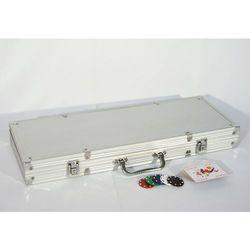 Zestaw do pokera 500 szt żetonów z akcesoriami