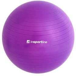 inSPORTline Top Ball 75 cm - IN 3911-4 - Piłka fitness, Fioletowa - Fioletowy