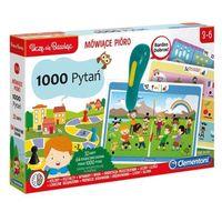 Gry dla dzieci, Mówiące pióro 1000 pytań. Darmowy odbiór w niemal 100 księgarniach!