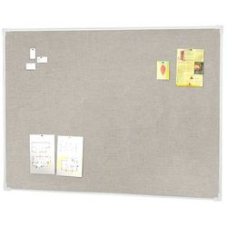 Tablica informacyjna, 900x600 mm, jasnoszary, aluminium
