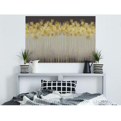 Obrazy, Złoty deszcz - nowoczesny obraz na płótnie