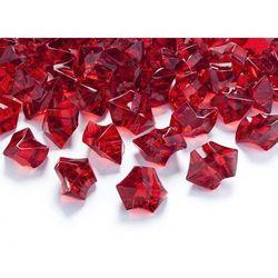Kryształowy lód czerwone wino - 2,5 x 2,1 cm - 50 szt.