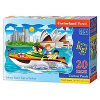 Puzzle, Puzzle Maxi Konturowe:Motor Yacht Trip in Sydney 20 - Castor