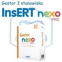 Programy kadrowe i finansowe, InsERT Gestor Nexo PRO 3 stanowiska