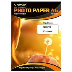 Savio papier PA-01 A6 błyszczący 20 ark Darmowy odbiór w 20 miastach!