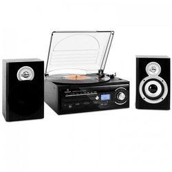 TT-190 wieża stereo gramofon MP3-nagrywanie CD SD USB