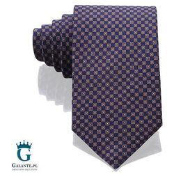 Włoski krawat jedwabny 14844/4