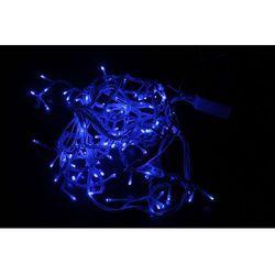 Oświetlenie świąteczne LED, 100 błękitnych diod, 6W, 230V, IP44, RS-100B + Bezpłatna natychmiastowa gwarancja wymiany!