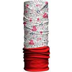 HAD Originals Fleece Tuba Dzieci, blumen/red fleece 2019 Chusty wielofunkcyjne Przy złożeniu zamówienia do godziny 16 ( od Pon. do Pt., wszystkie metody płatności z wyjątkiem przelewu bankowego), wysyłka odbędzie się tego samego dnia.