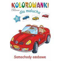 Książki dla dzieci, Samochody osobowe. kolorowanki dla malucha (opr. miękka)