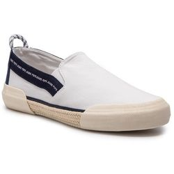 Espadryle PEPE JEANS - Cruise Slip On Men PMS10277 White 800