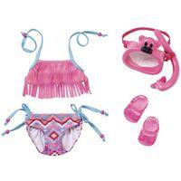 Ubranka dla lalek, BABY BORN Zestaw ubranek kąpielowych - Zapf - BEZPŁATNY ODBIÓR: WROCŁAW!