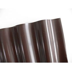 Obrzeża ogrodowe faliste – krawężnik 9x0,10m brązowy