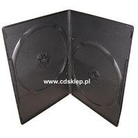 Pudełka i portfele na płyty, Etui plastikowe na 2DVD SLIM 7mm czarne