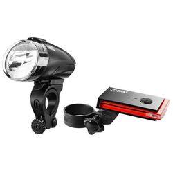 Red Cycling Products Bike Eye LED zestaw oświetlenia rowerowego, black 2019 Lampki na baterie zestawy Przy złożeniu zamówienia do godziny 16 ( od Pon. do Pt., wszystkie metody płatności z wyjątkiem przelewu bankowego), wysyłka odbędzie się tego samego dnia.