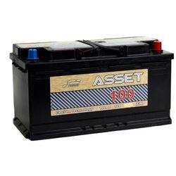 Akumulator ASSET 100Ah 760A EN PRAWY PLUS