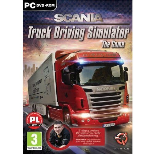 Gry PC, Scania Truck Driving Simulator (PC)