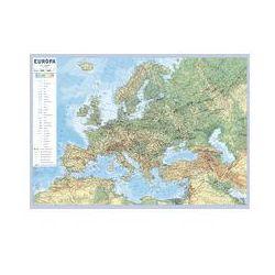 Europa ścienna mapa podręczna. Darmowy odbiór w niemal 100 księgarniach!