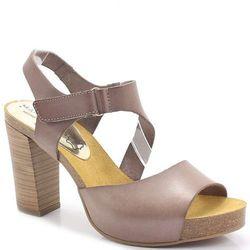 MARIETTAS 71041 BRĄZ - Hiszpańskie sandały - Brązowy ||Beżowy DZIEŃ CZEKOLADY - 20% (-25%)