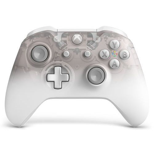 Gamepady, Kontroler bezprzewodowy MICROSOFT WL3-00121 Phantom White Special Edition do Xbox One