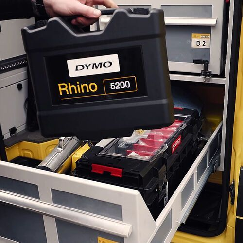 Drukarki termiczne, DRUKARKA ETYKIET DYMO RHINO 5200