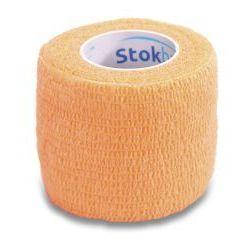 STOKBAN Samoprzylepny bandaż elastyczny 2,5cmx4,5cm cielisty 1szt