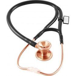 Stetoskop kardiologiczny MDF Classic Cardiology 797 różowe złoto - czarny