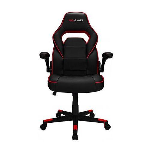 Fotele dla graczy, Fotel gamingowy STRIKE czerwony PRO-GAMER dla gracza