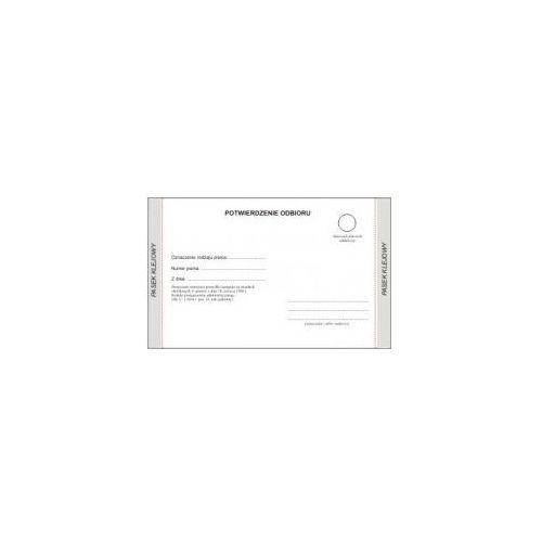 Druki akcydensowe, Zwrotne potwierdzenie odbioru / KPA - POSTĘPOWANIE (wzór - 2018)