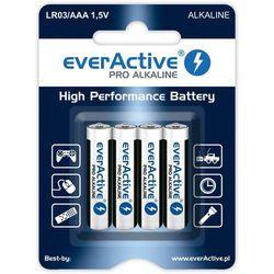 Bateria EVERACTIVE Pro Alkaline LR03/AAA (4 szt.)