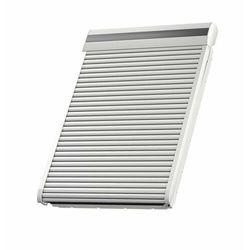 Roleta na okno dachowe VELUX SML SK10 114x160 zewnętrzna elektryczna tytan-cynk