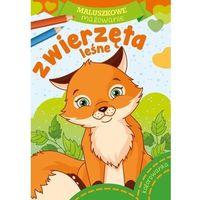 Książki dla dzieci, Maluszkowe malowanie. Zwierzęta leśne (opr. miękka)