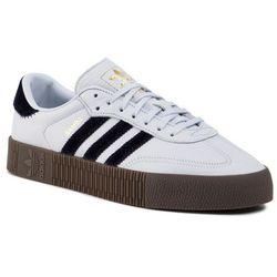 Buty adidas - Sambarose W EE4686 Aerblu/Aerblu/Goldmt