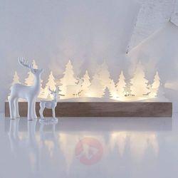 Drewniany świecznik łukowy LED Johannesberg