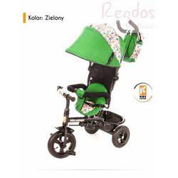 Rowerek trójkołowy KIDZ MOTION Tobi Venture Zielony + DARMOWY TRANSPORT!